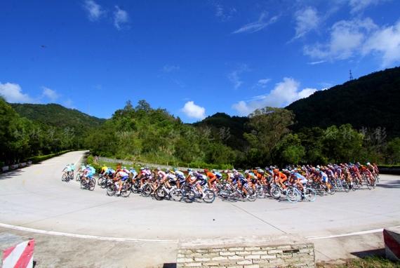 """""""海南农信杯""""2016第十一届环海南岛国际公路自行车赛最新线路"""