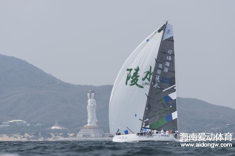 陵水号出征第十届中国杯帆船赛 彰显珍珠海岸新势力