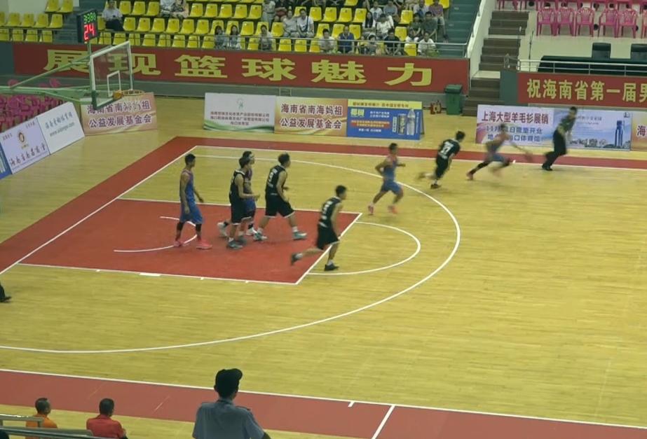 【比赛录像】男子篮球精英赛海南师范大学53:56海南大学