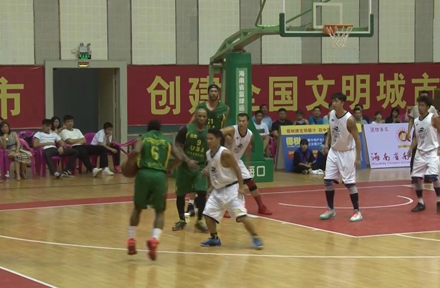【比赛录像】男子篮球囯际挑战赛华盛和平82:114美国格威兹利