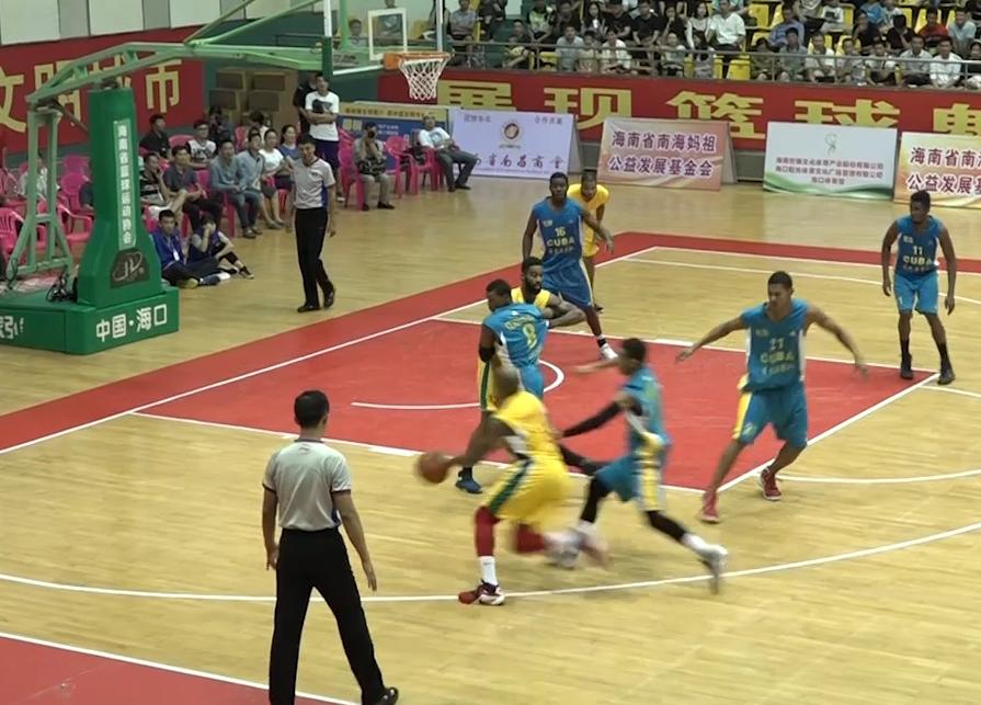 【比赛录像】男子篮球囯际挑战赛决赛美国格威兹利队70:63古巴国家队