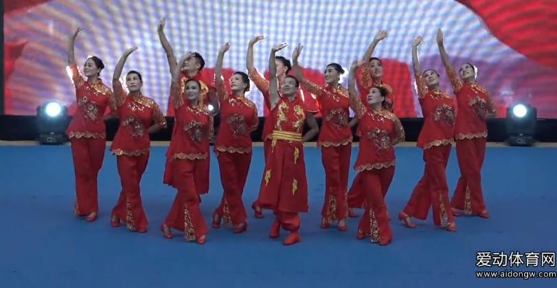 【广场舞】 新疆石河子市体育总会天音健身辅导总站代表队