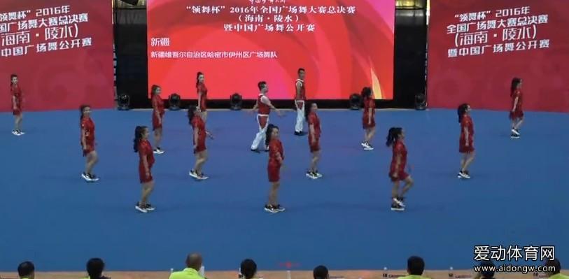 【广场舞】新疆维吾尔自治区哈密市伊洲区广场舞队