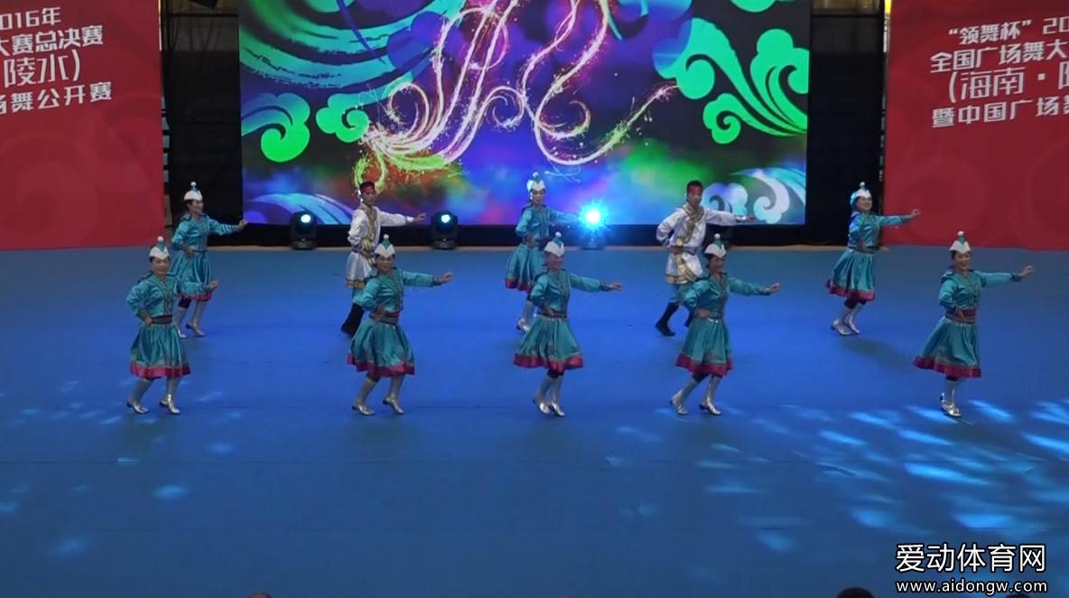 【广场舞】内蒙古兴安盟代表队