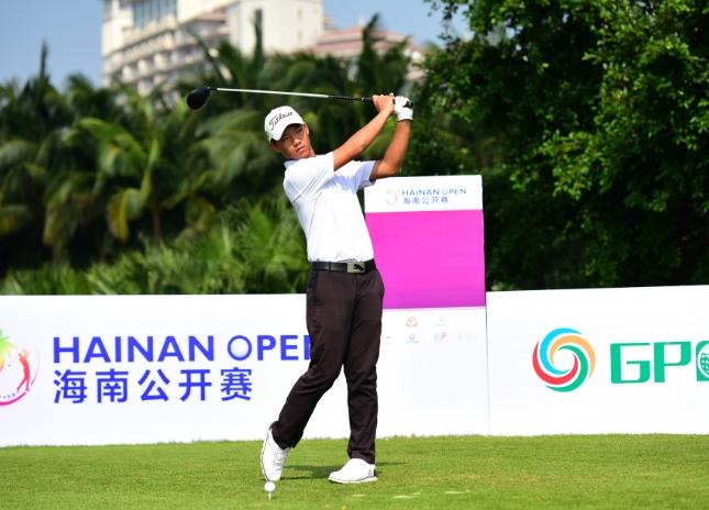 2016海南公开赛暨国际业余高尔夫球锦标赛首轮打响 温桢祥王梅杏领先
