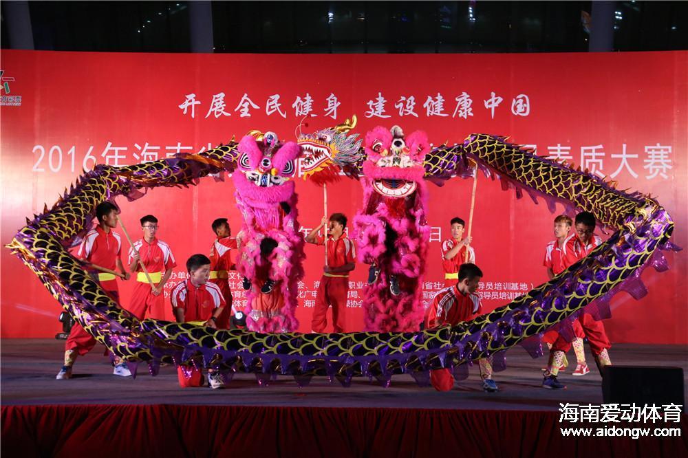 2016年海南省第二届社会体育指导员素质大赛落幕