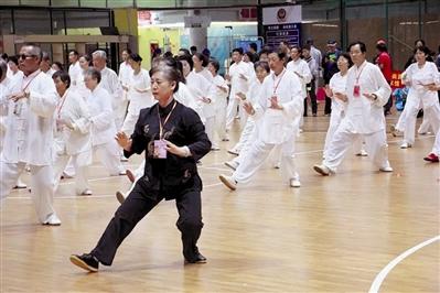 2016三亚国际传统武术交流大赛开赛