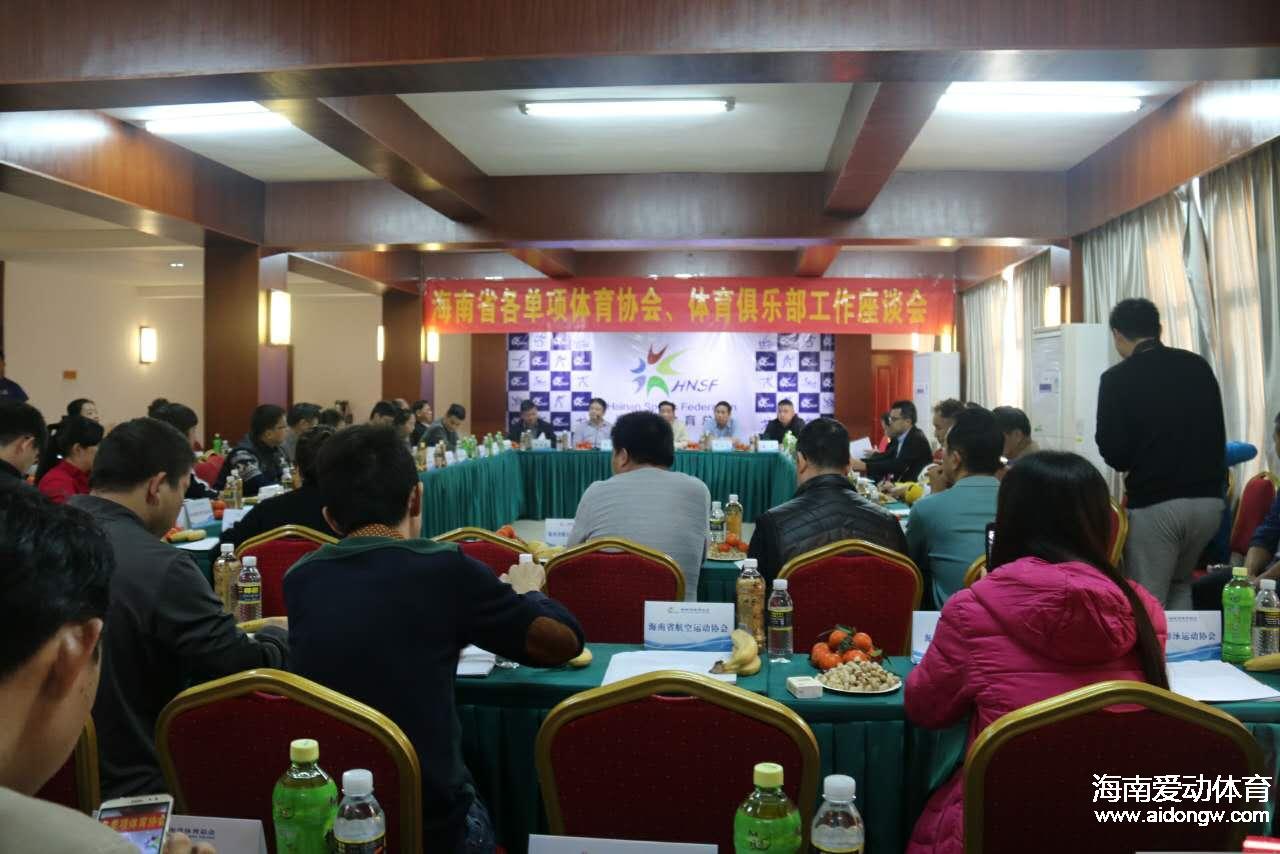 海南省体育总会年终总结: 加强体育社团组织建设 努力搭建全民健身工作平台