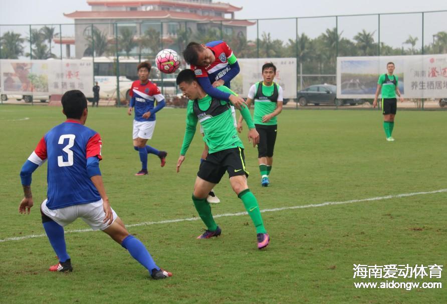 海南博盈足球队2016进球视频集锦