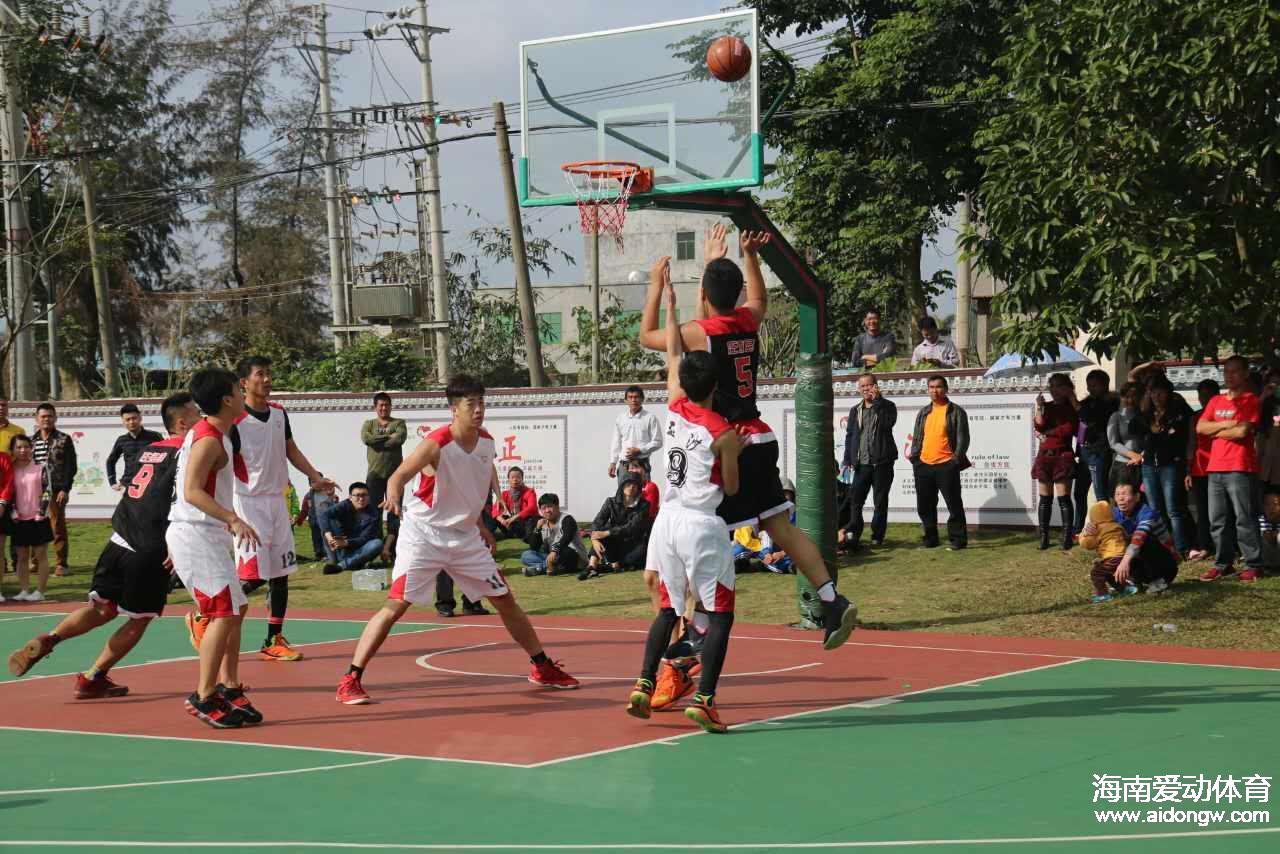 【录像】十三届秀英迎春杯篮球赛揭幕战