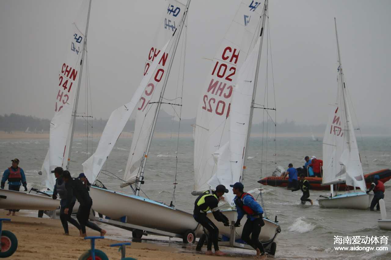 2017年全国帆船冠军赛3月8日开赛 全国165支船队碧海扬帆