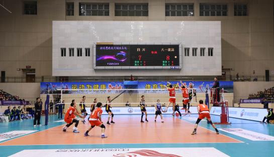 2016-2017中国男排联赛文昌赛区落幕  八一男排取联赛第四