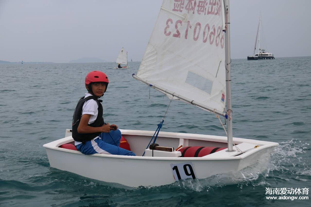 帆船少年许宇浩:大海是自由更是一种陪伴