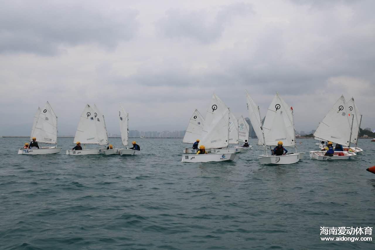 2017环海南岛国际大帆船赛帆船少年