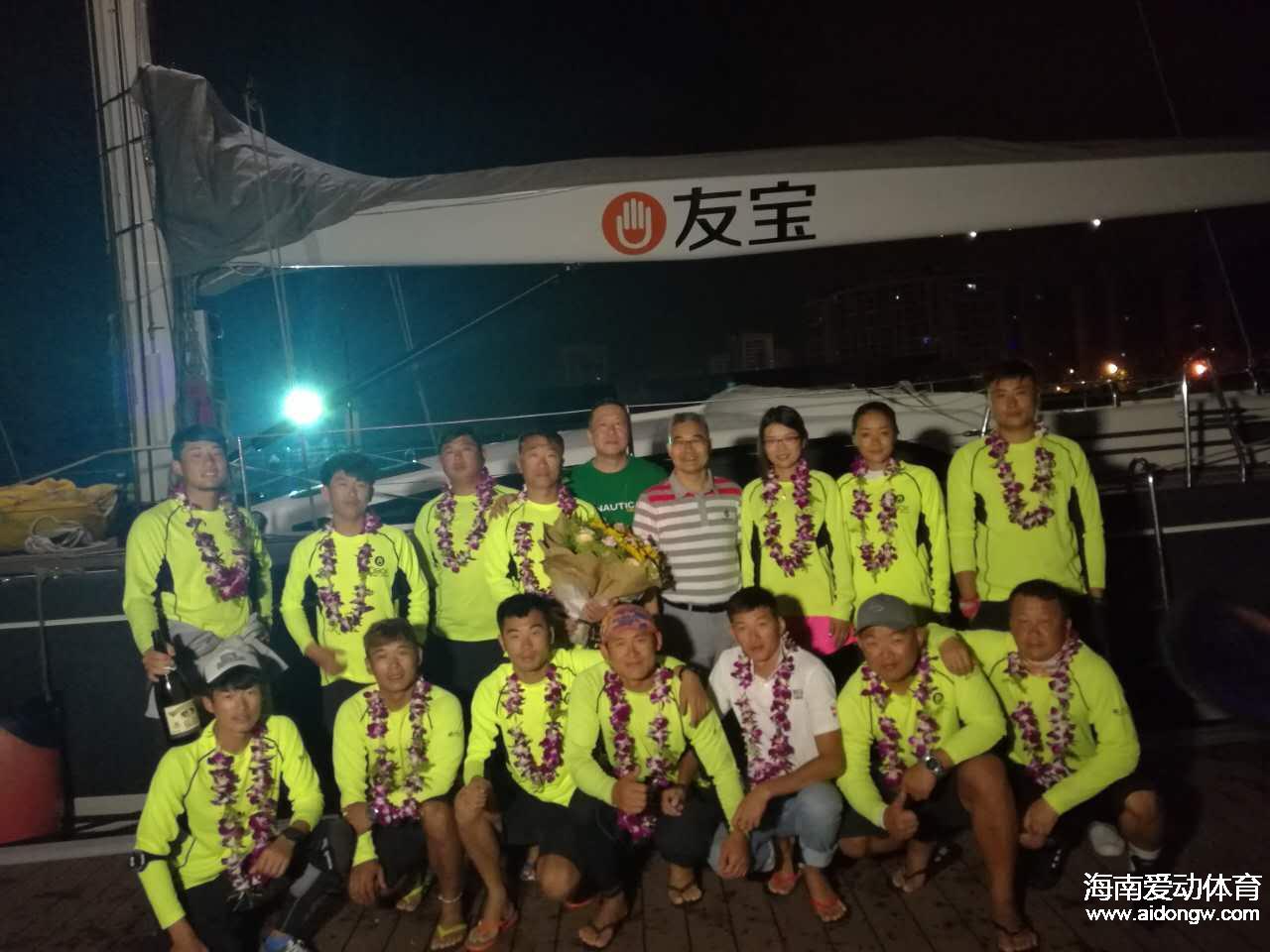 2017第八届海帆赛西线拉力赛结束   海口号夺小组头名
