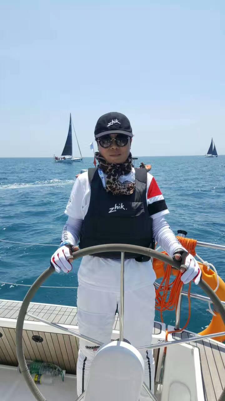 """【航海故事】上海老友号帆船队于琳:绽放在大海上的""""蓝玫瑰"""""""
