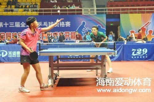 创历史!海南乒乓球队首获全运会入场券  罗铮:给自己点个赞
