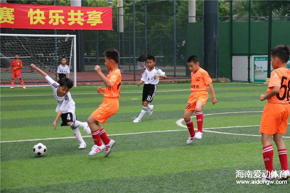 海南U10足球锦标赛半决赛周末打响 U11组赛事五月鸣哨