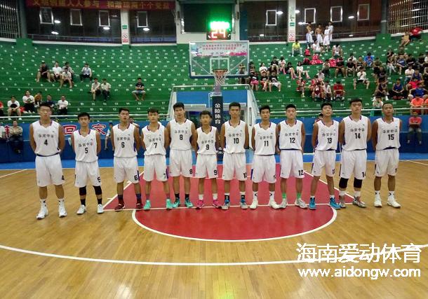 省中学生运动会篮球赛第四日战报:澄迈中学女篮轻取乐东中学