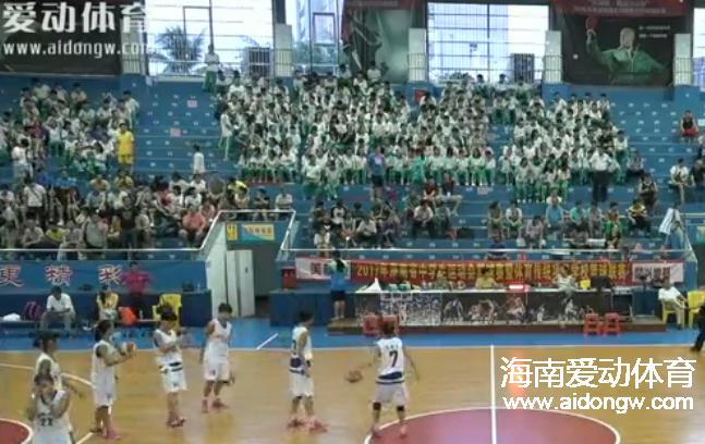 2017省中学生运动会女子组篮球赛决赛 海口一中 vs 澄迈中学
