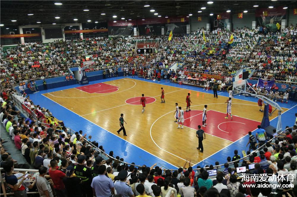 【球照】爆满!海南省中学生运动会篮球赛决赛盛况