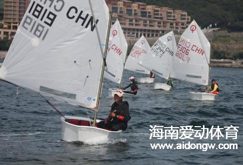 周明莹等海南4名选手获得全运会OP帆船项目决赛资格