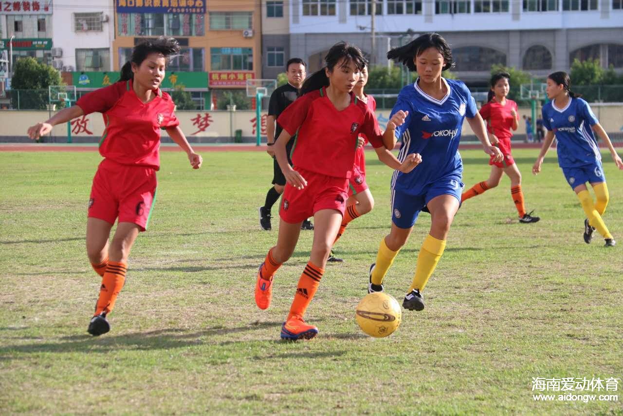 海南今年要组建省女子足球队 各市县至少设立一个女子足球训练网点