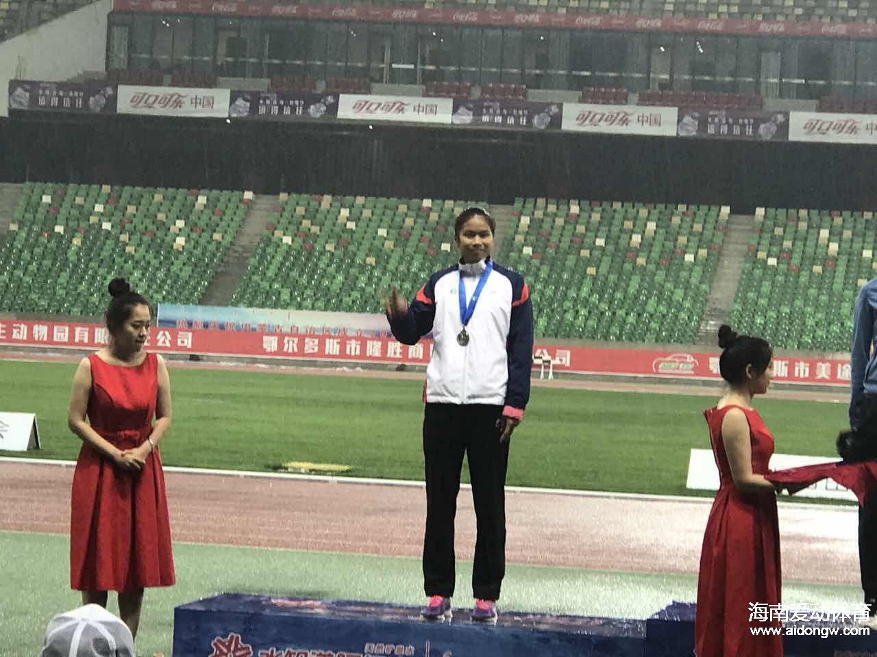 2017年全国青年(u20)田径赛落幕 海南选手周晶晶荣获七项全能第二名