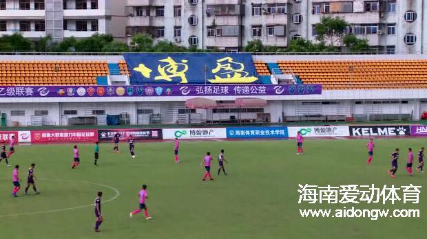 【全场回放】中乙联赛第十二轮:海口博盈0:2深圳雷曼