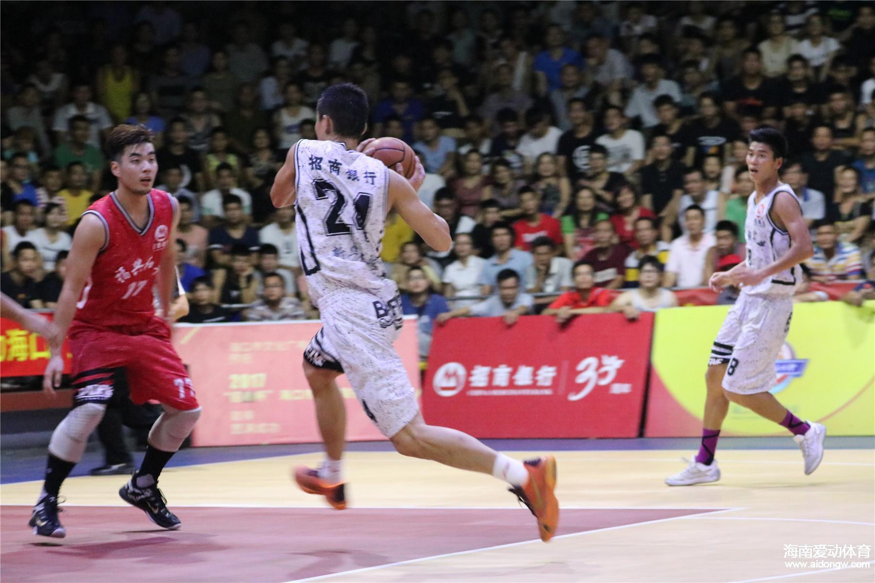 【视频】海口市篮球联赛决赛第三回合:宁翔新华84:79胜福兴和平