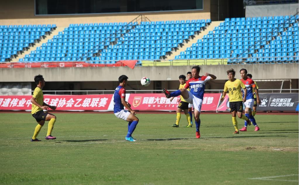 中乙联赛第十五轮:海口博盈客场0:1苏州东吴