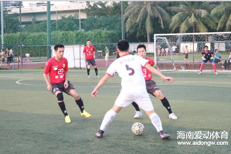 明晚2017海口市第三届企业夏季足球赛决赛:雷龙FC VS 太阳红