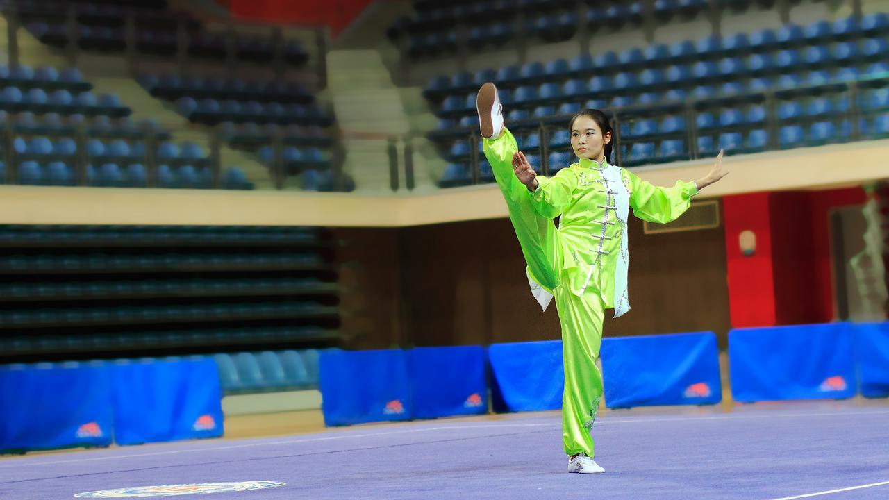 300多名运动员参加三亚国际武术邀请赛