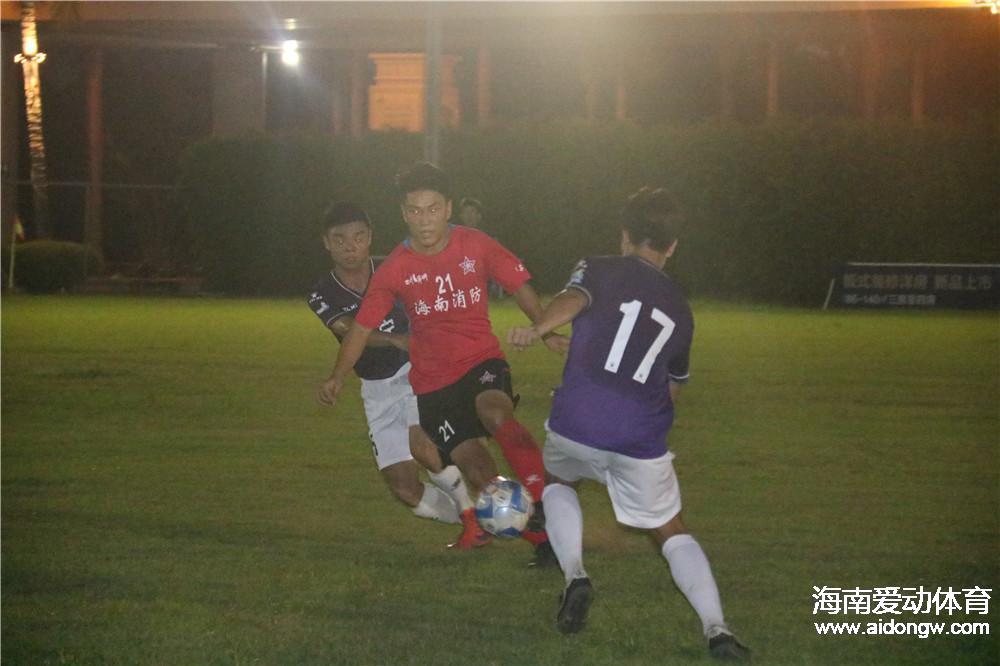【视频】2017海南省青足赛1/4决赛:海口海航红色战车3:0万宁足球队