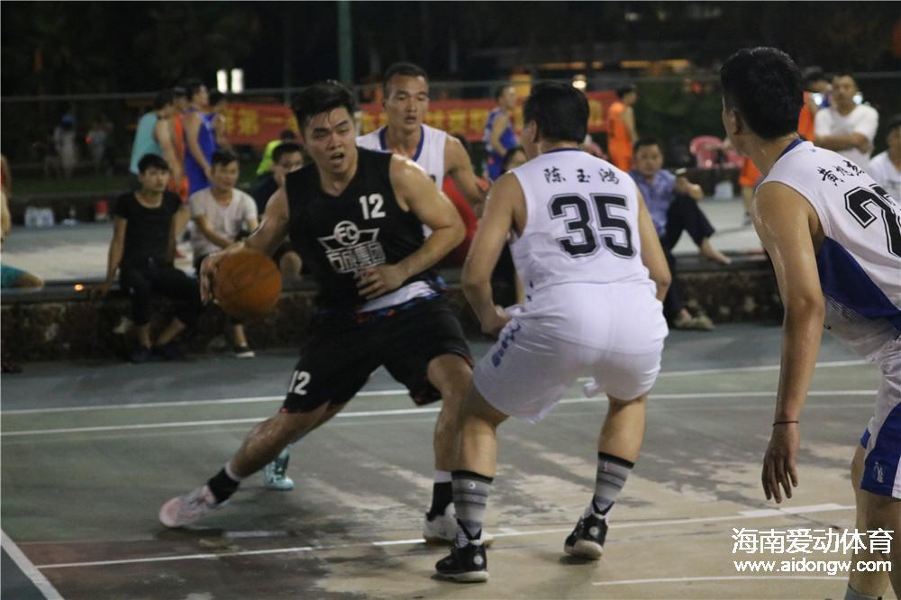 """海口市篮球协会""""海鲜第一家""""篮球赛决赛今晚激战继续  福兴和平VS世兴地基"""
