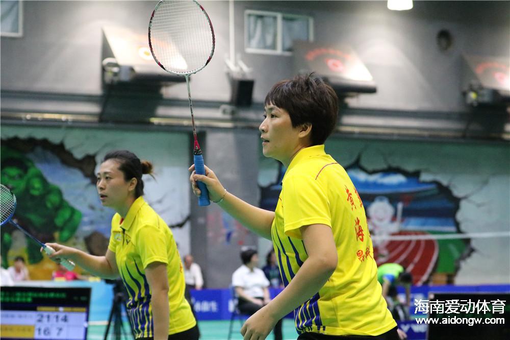 全运会群众羽毛球再传捷报  海南男双、女双均获两连胜