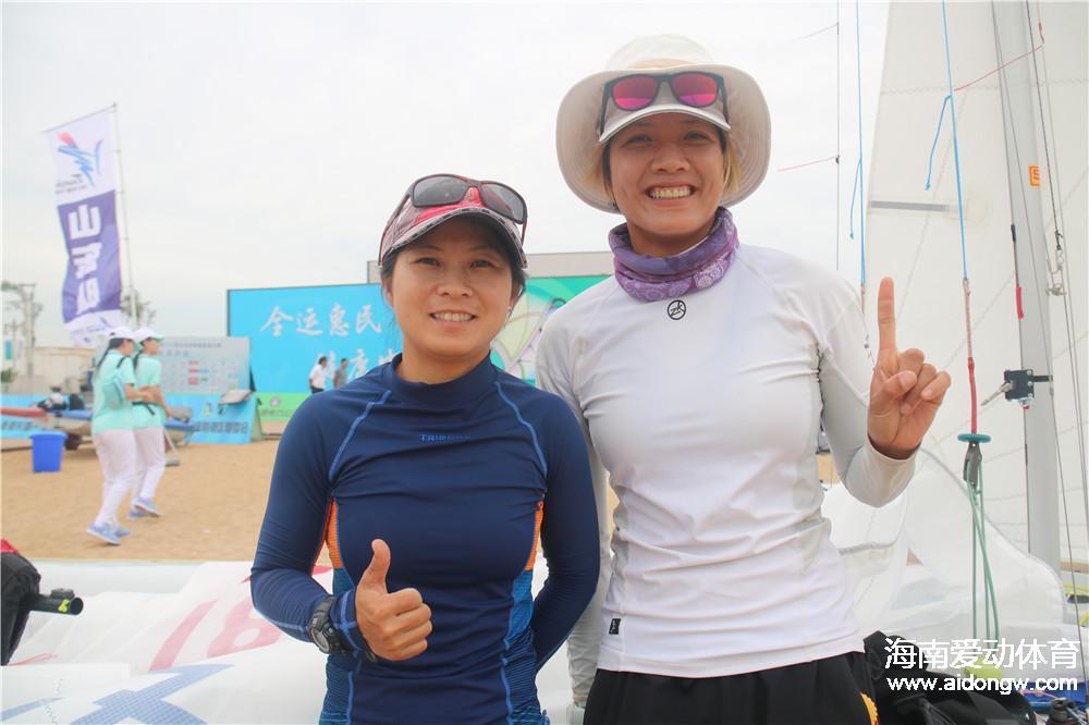 帆船470级首日黄丽珠/冯惠敏暂列第四 4对沙排组合出线堪忧