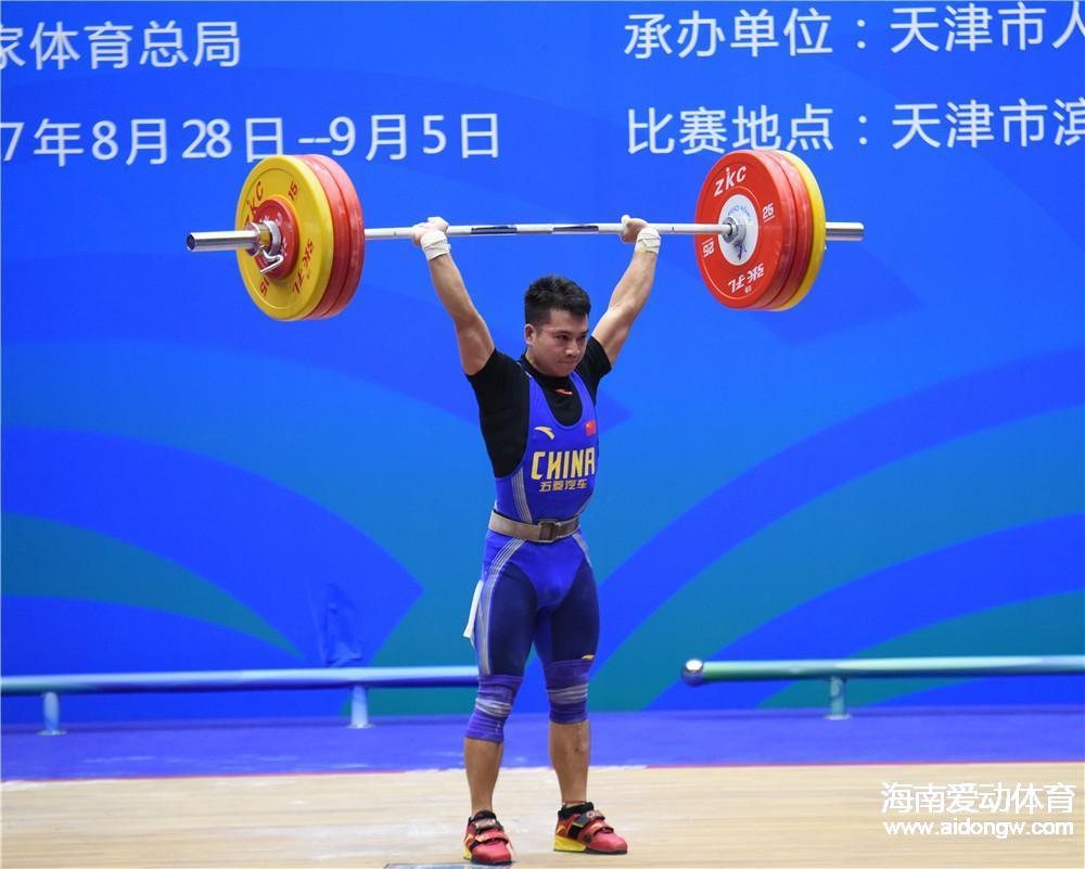 遗憾+不甘!蒙成错失举重56公斤级金牌 目标剑指东京奥运