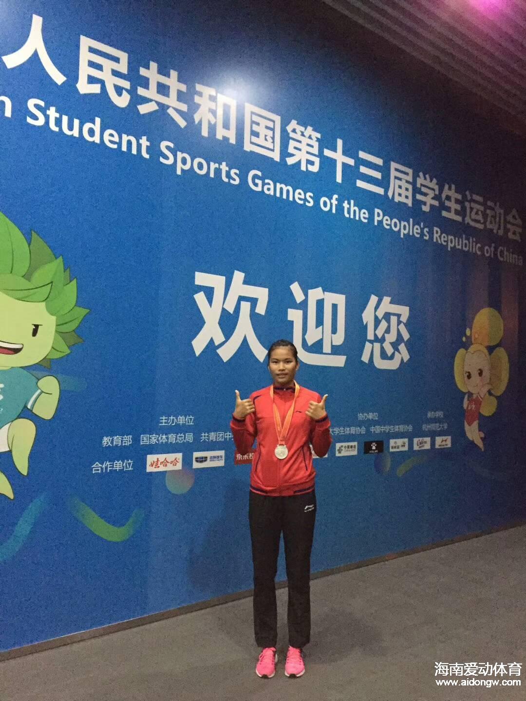 海南周晶晶获学运会女子七项全能银牌 教练:她还需要更多的历练!