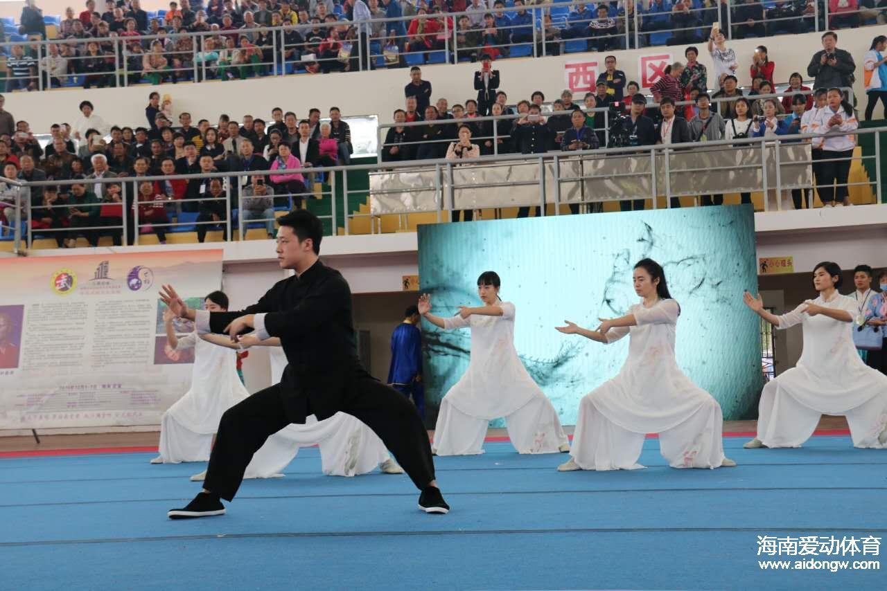 海南省武术公开赛文昌举行 全省47支代表队670名运动员参加