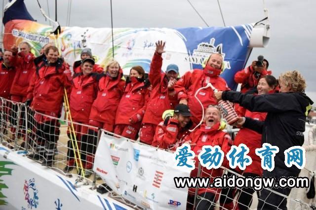 遇35节大风+炎热天!三亚新奇世界半山半岛号夺克利伯环球帆船赛首赛段第一