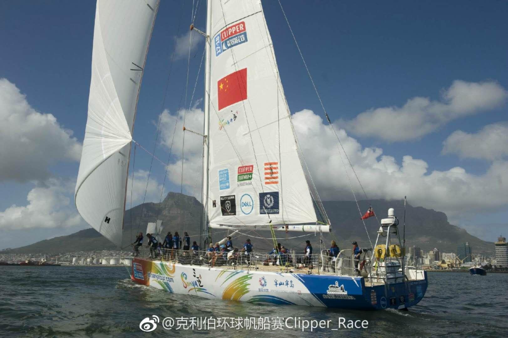 三亚新奇世界半山半岛号获第二赛段第七 休整后启程赴澳洲|克利伯环球帆船赛