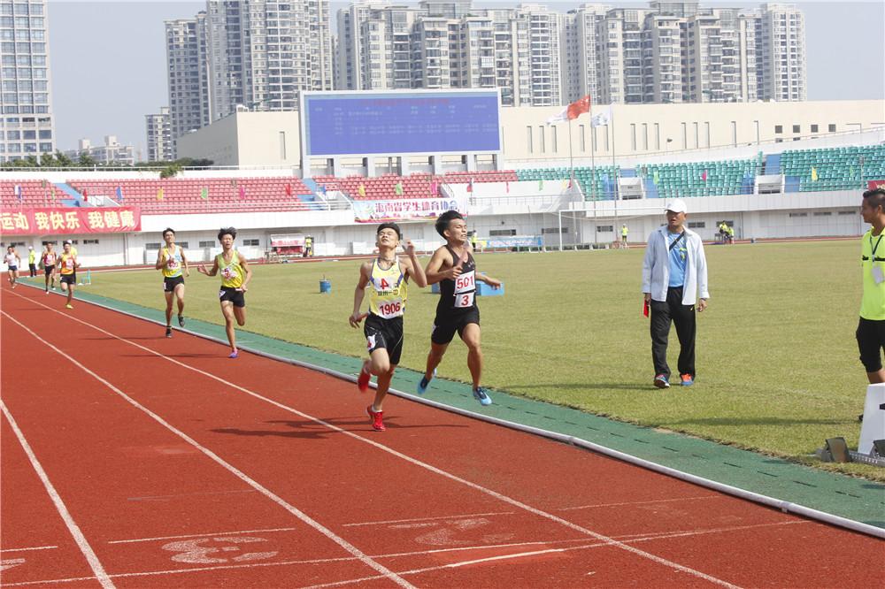 海南省中学生运动会田径赛落幕 三亚市第一中学获团体总分第一