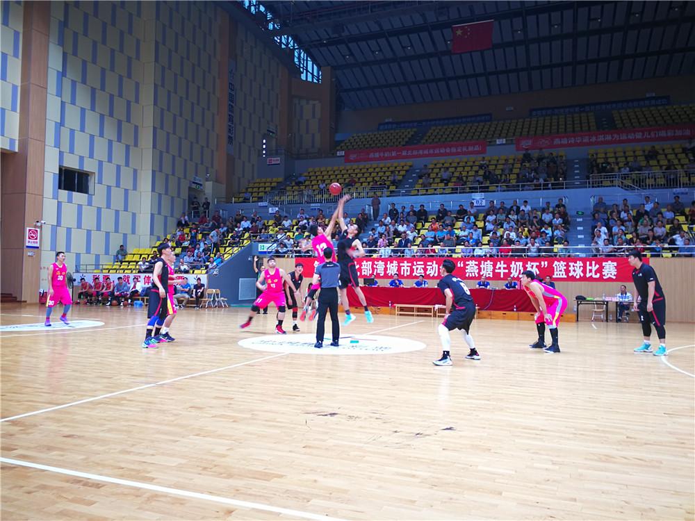 北部湾城运会男篮决赛:海口男篮将于14日下午与广东湛江争冠