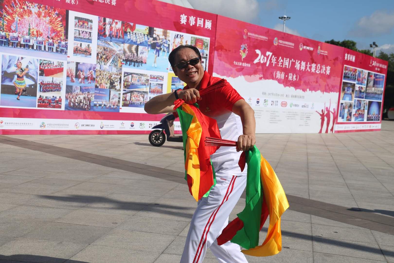 2017年全国广场舞大赛总决赛(海南•陵水)一触即发!各参赛队抵达赛区主会场布置完毕