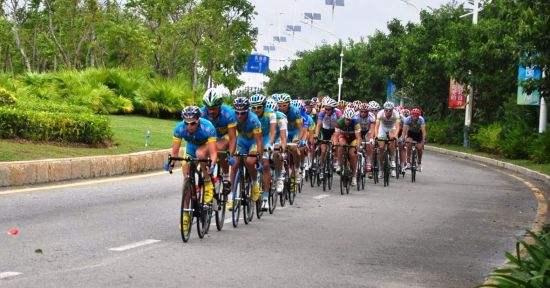 2017海南国际旅游岛自行车联赛五指山站正式开赛