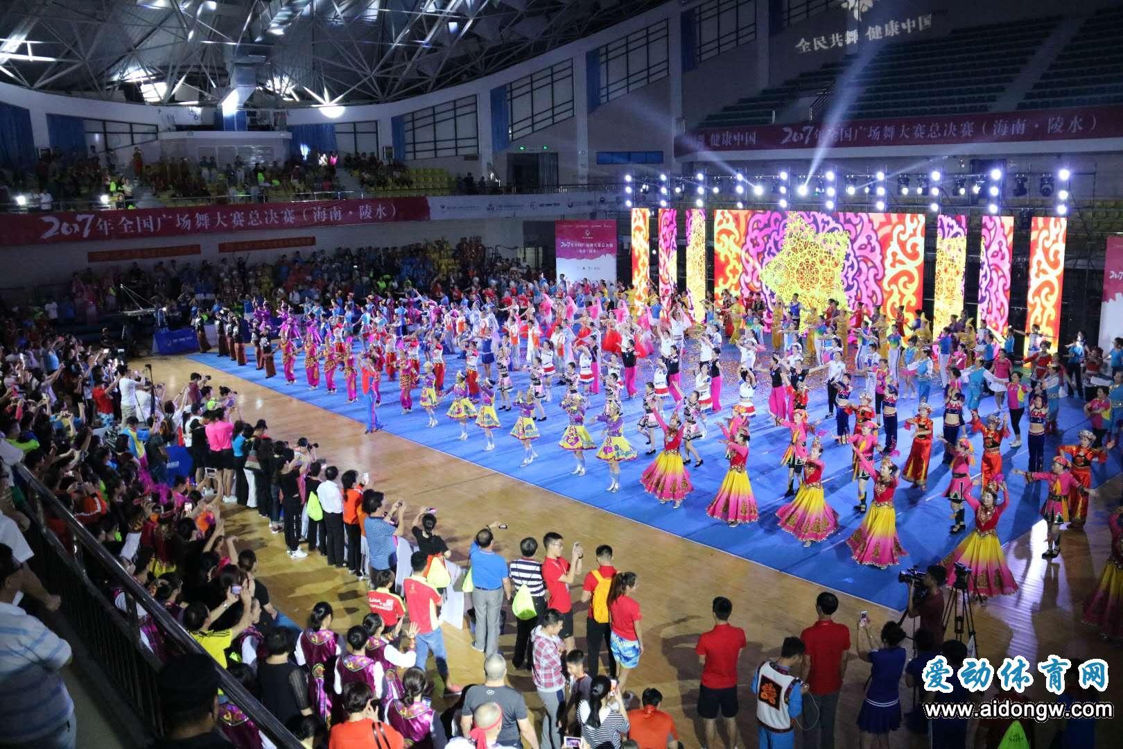 2017年全国广场舞大赛总决赛(海南•陵水)盛大开幕