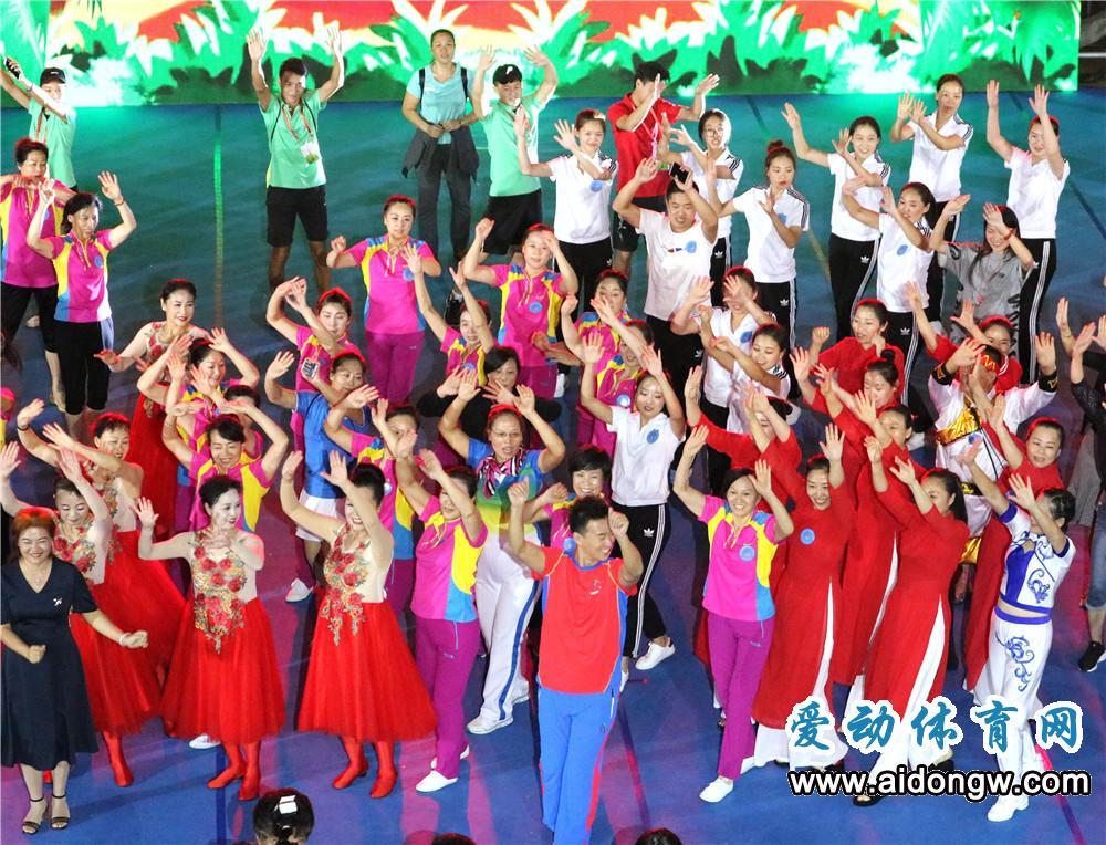 2017年全国广场舞大赛总决赛在海南陵水圆满落幕