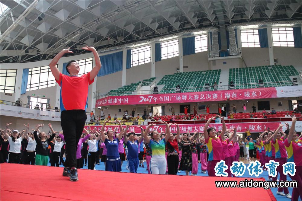 王广成:愿为更多的广场舞爱好者服务 课程编排适应大众体验参与