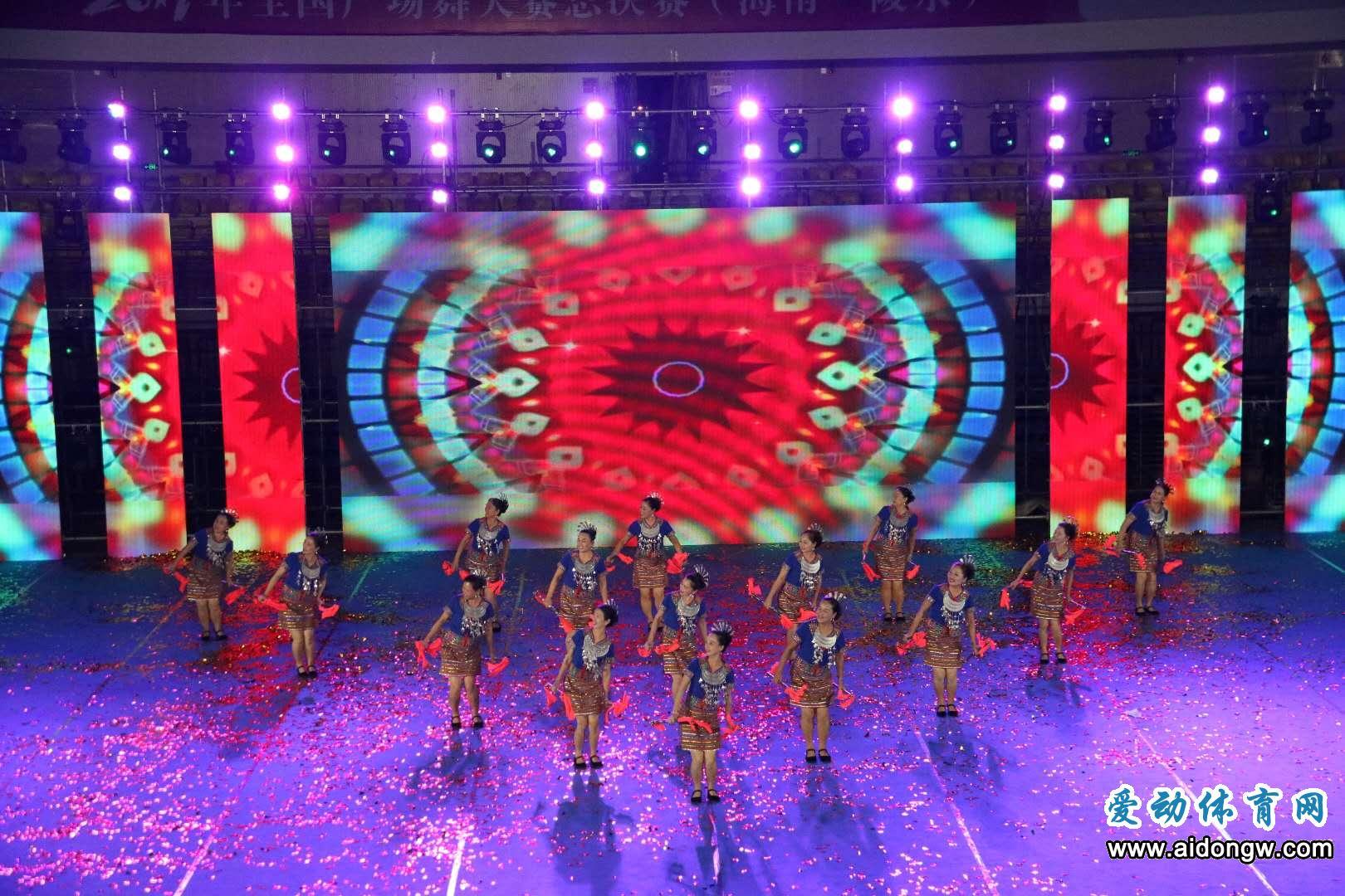 【视频】2017全国广场舞大赛总决赛开幕式(海南·陵水)